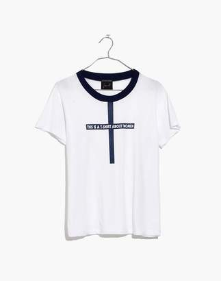 Madewell x Monogram This Is a T-Shirt About Women Tee