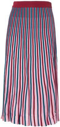 Kenzo Striped Knitted Skirt