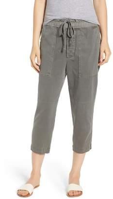 James Perse Crop Cargo Pants