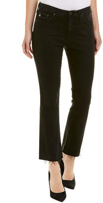 AG Jeans The Jodi 3 Years Obsidian High-Rise Slim Flare Crop