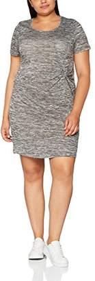 Studio Untold Women's Jerseykleid Dress, (Grau 11)