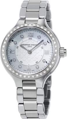 Frederique Constant Women's Case Quartz Analog Watch FC-281WHD3ERD6B