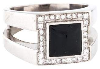 Di Modolo 18K Onyx & Diamond Ring