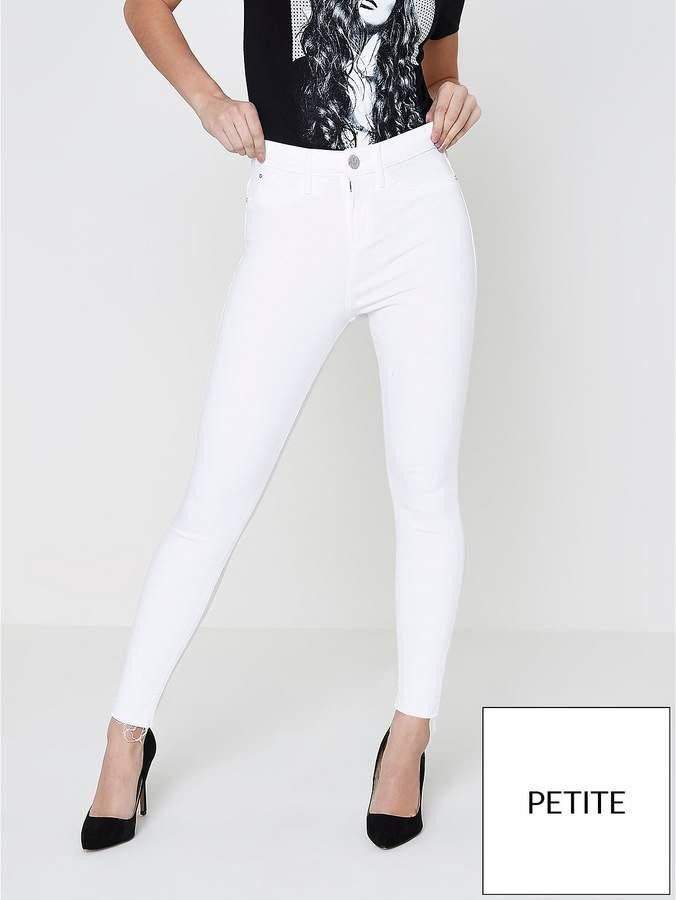 RI Petite Molly White Jeans