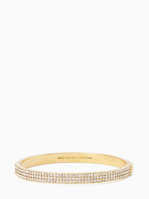 Kate Spade Heavy metals pave row bangle