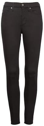 Banana Republic Petite High-Rise Legging-Fit Luxe Sculpt Stay Black Ankle Jean