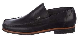 b12d5710323 a. testoni a.testoni Leather Dress Loafers