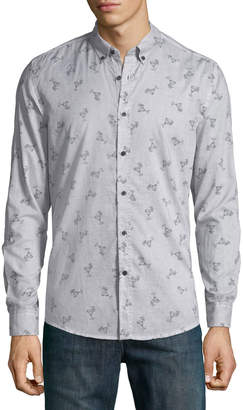 Antony Morato Men's Slim-Fit Cocktail-Print Sport Shirt