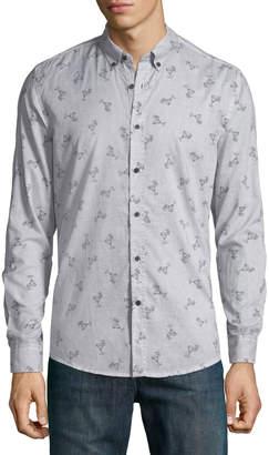 Antony Morato Men's Slim-Fit Cocktail-Print Sport Shirt