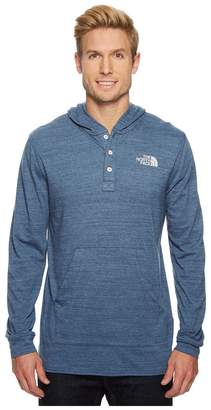 The North Face Henley Tri-Blend Hoodie Men's Sweatshirt