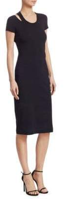 Helmut Lang Cutout Sheath Dress