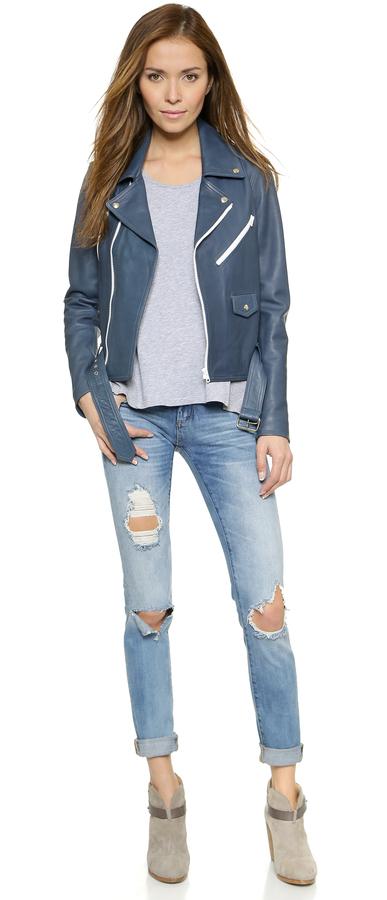 Blank Denim Distressed Skinny Jeans 3