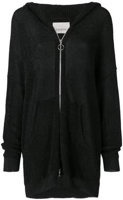 Laneus mid-length zip jacket