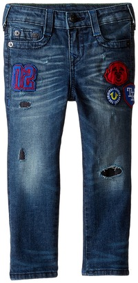 True Religion Kids Rocco Jeans in Decoded Wash (Toddler/Little Kids) $89 thestylecure.com