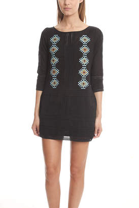 Pam & Gela Embroidered Dress