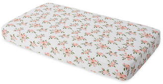 Little Unicorn Watercolor Roses Cotton Muslin Crib Sheet