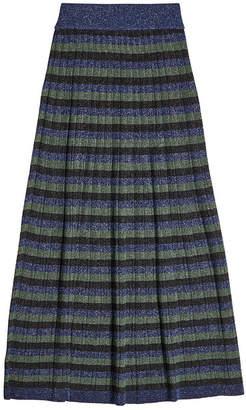 Sonia Rykiel Skirt with Metallic Thread