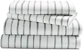 Sparrow & Wren Relaxed Washed Painted Stripe Sheet Set, Queen - 100% Exclusive
