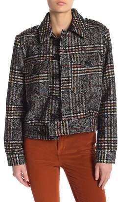 Free People Slouchy Eisenhower Tweed Jacket
