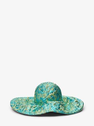 Michael Kors Brocade Sun Hat