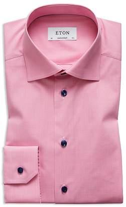 Eton Solid Regular Fit Dress Shirt