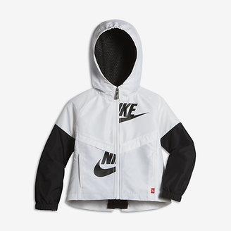 Nike Sportswear Windrunner Toddler Girls' Jacket $65 thestylecure.com