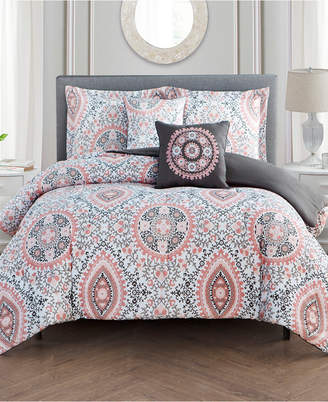 Mytex Juliana 5-Pc. King Comforter Set Bedding