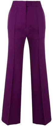 Cavallini Erika high-waist flared trousers