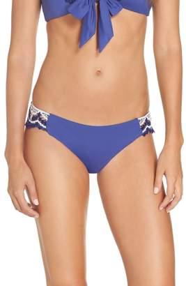Becca Delilah Crochet Hipster Bikini Bottoms