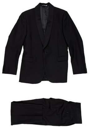 Barneys New York Barney's New York Wool Two-Piece Suit
