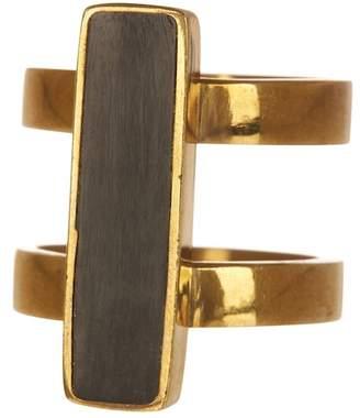 Soko Horn Bar Double Band Ring