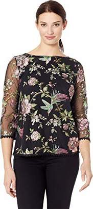 Karen Kane Women's Embroidered Top