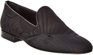 Versace Medusa Head Leather Loafer