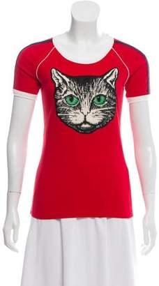 Gucci 2018 Mystic Cat T-Shirt