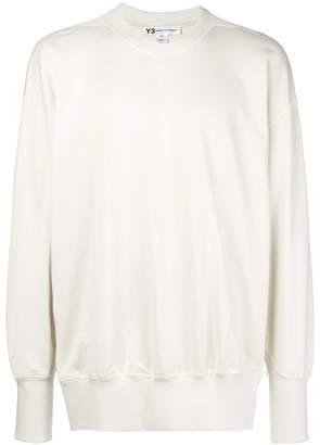 Y-3 rear logo sweatshirt