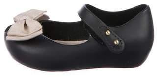 Mini Melissa Girls' Jelly Maryjane Flats