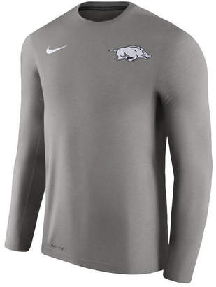 Nike Men's Arkansas Razorbacks Dri-Fit Touch Longsleeve T-Shirt