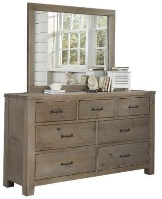 Hillsdale Furniture Highlands 7 Drawer Dresser with Mirror