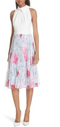 Ted Baker Babylon Pleat A-Line Dress