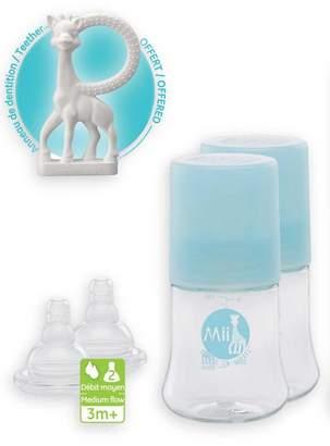 Sophie La Girafe Bottle/Brush Set