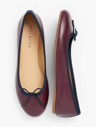 Talbots Penelope Ballet Flats - Napa Leather