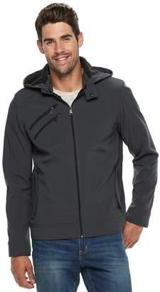 Urban Republic Men's Softshell Hooded Jacket