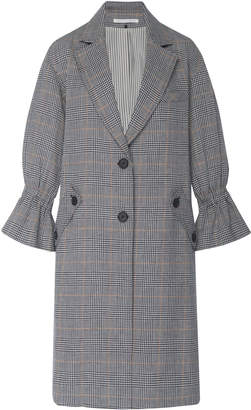 Veronica Beard Conor Linen And Cotton Blend Trench Coat