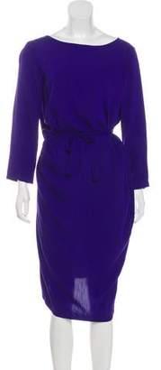 Humanoid Long Sleeve Midi Dress