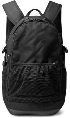 Nike Leather-Trimmed CORDURA Backpack - Black