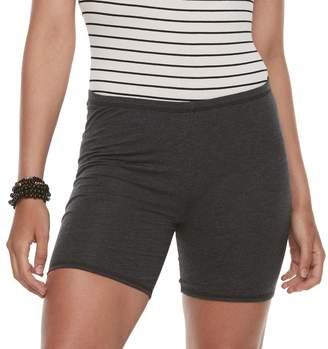 So Juniors' SO Heathered Jersey Shorts