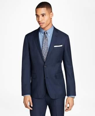 Brooks Brothers Windowpane Wool Suit Jacket