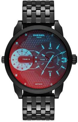 Diesel Men's Mini Daddy Dual Time Bracelet Watch, 54mm