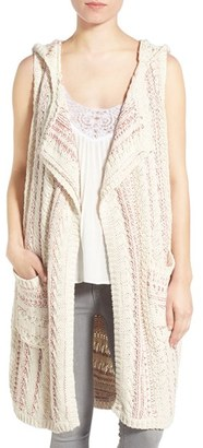 Women's Willow & Clay Cotton Hooded Vest $89 thestylecure.com