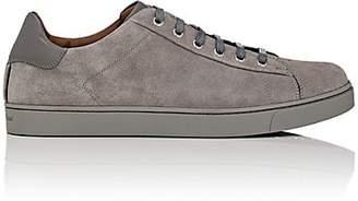 Gianvito Rossi Men's Suede Sneakers - Gray